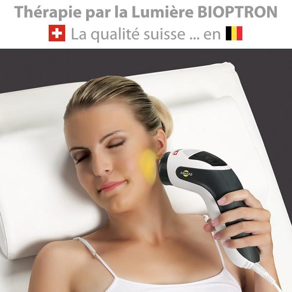 Bioptron lampe therapie par la lumiere