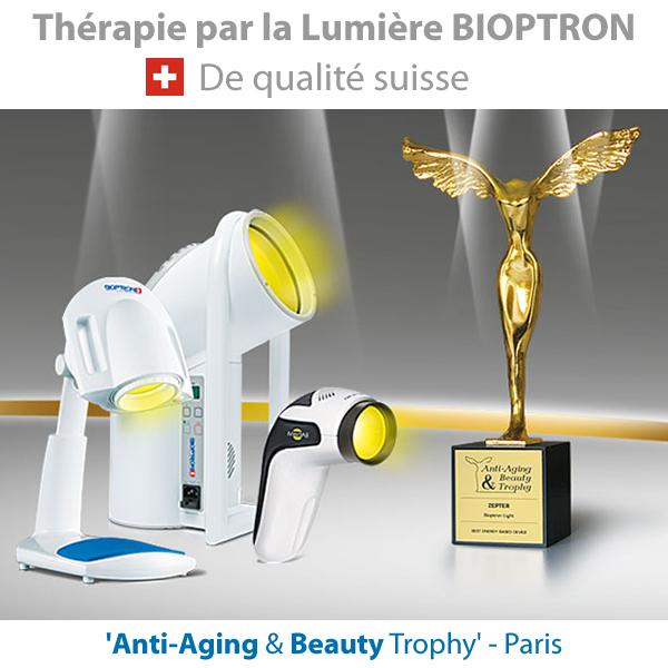 Luminotherapie Bioptron lampe